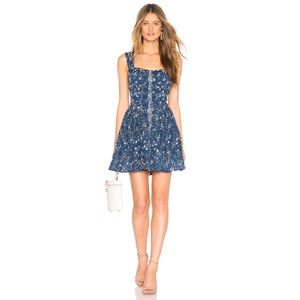 Free People Dance on the Blacktop Mini Sundress
